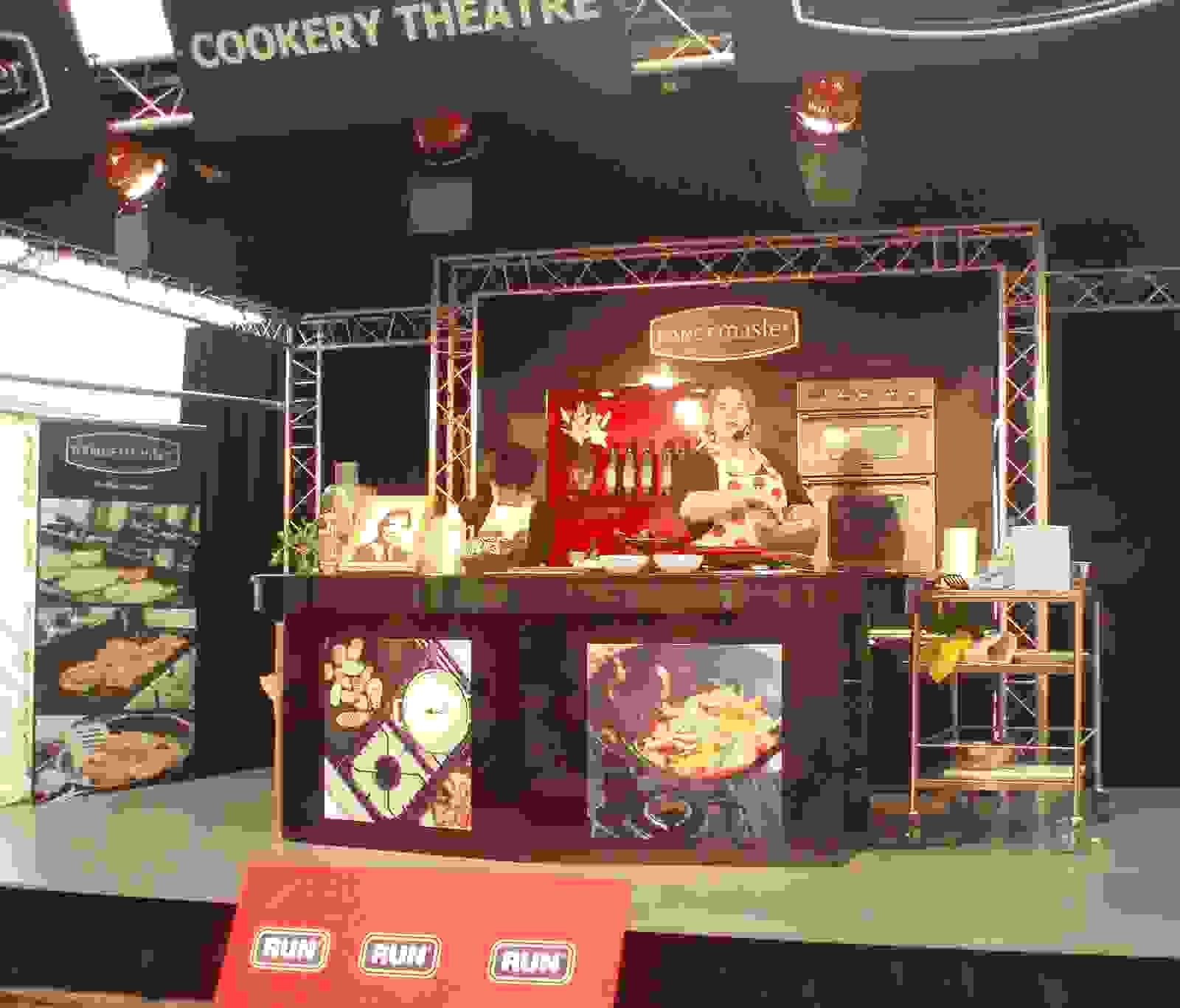 Cookery Theatre On-stage