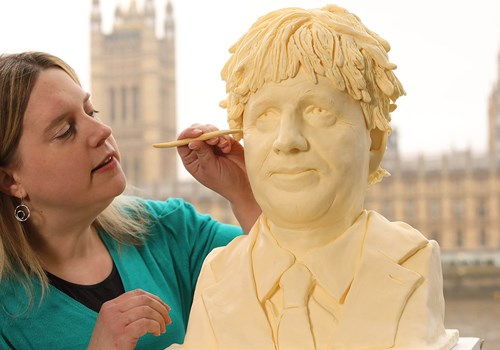 Butter Boris Sculpture